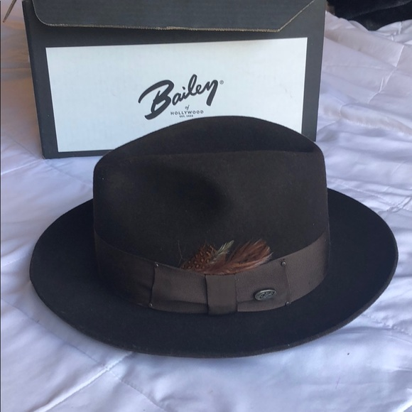 8ff483cf Bailey Of Hollywood Accessories | Gangster Fedora Cordova | Poshmark